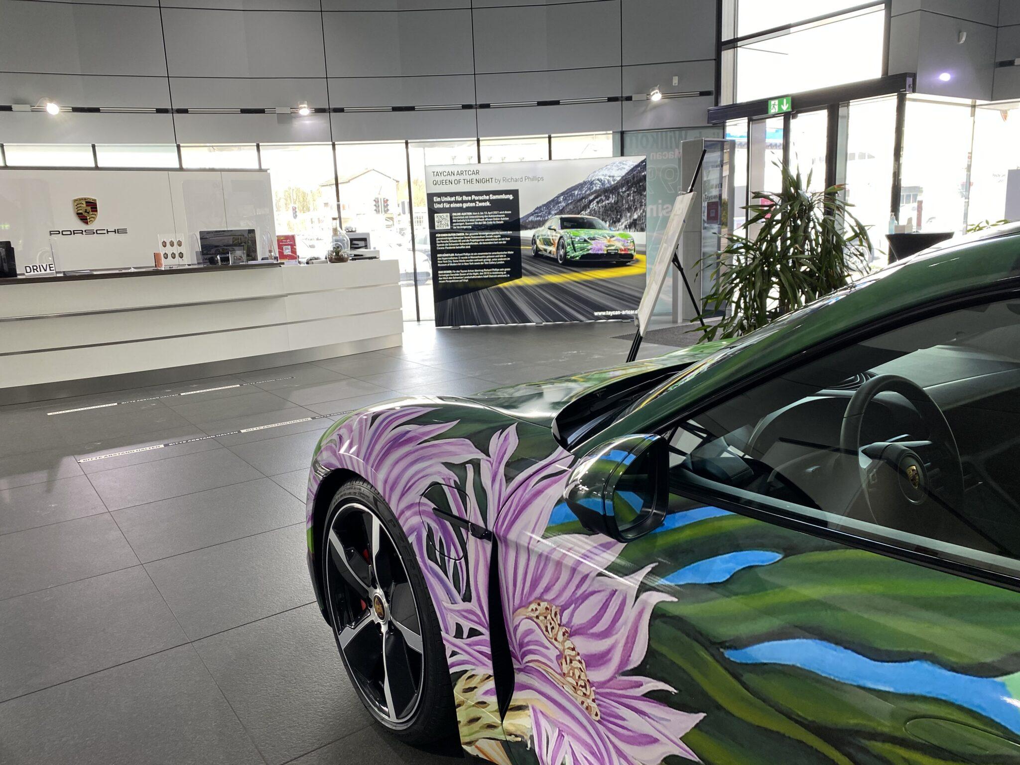 Porsche Art Car Roadshow